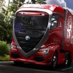 Фантазии о грузовике Alfa Romeo