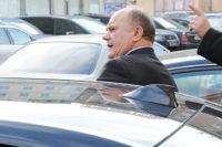 Коммунист Зюганов и его автопарк