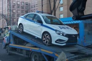 Lada Vesta Sport в полицейской версии