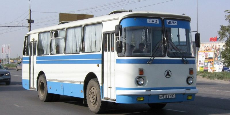 Легендарный автобус ЛАЗ-695Н