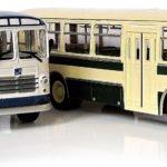 Масштабные модели автобусов ЗИЛ-158В и ЛиАЗ-677
