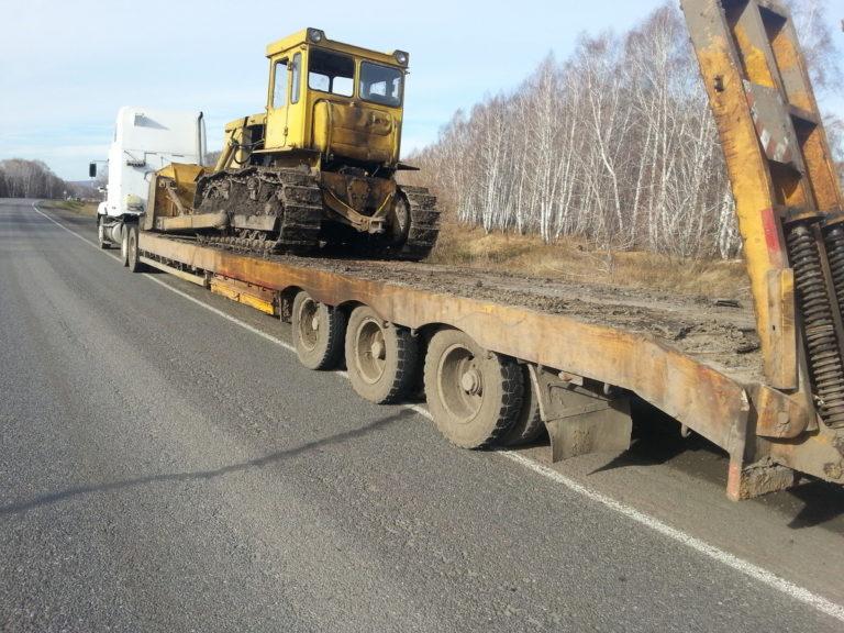 Новый штраф - за проезд на бульдозерах по дорогам