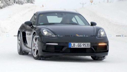 Обновлённый Porsche 718 Cayman GT4 Touring