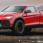 Пикап  Lamborghini Urus