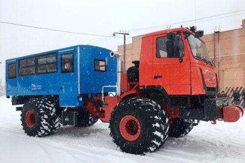 Российский автобус проедет везде