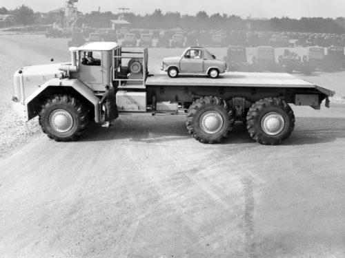 Самый большой тягач 50-х