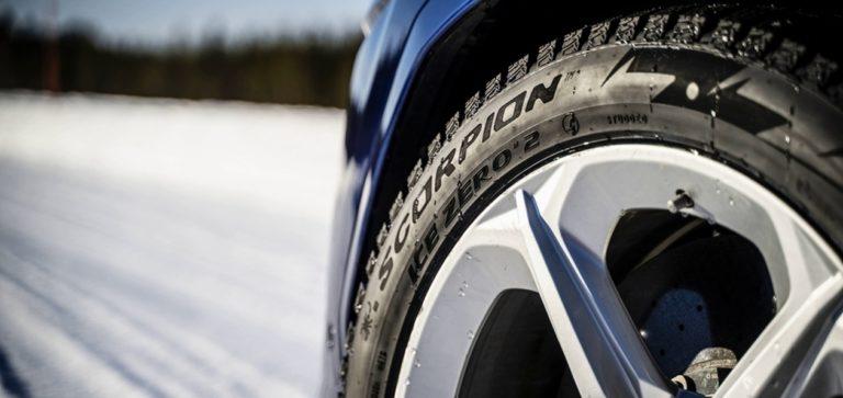 Шипованные шины «премиум» от Pirelli