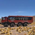 Туристический автобус 8×8 из грузовика Tatra