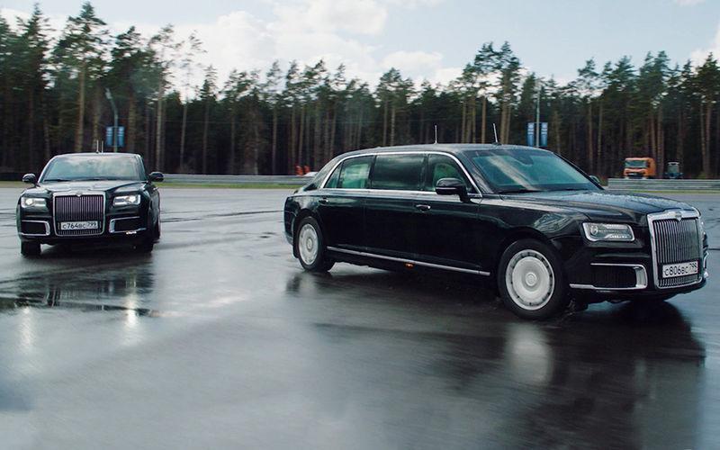Заказы на  лимузин и седан Aurus с 15 февраля