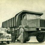 Первый в СССР 40-тонник МАЗ-530