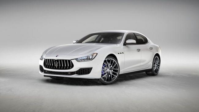 Ограниченная серия спортивного седана Maserati Ghibli Scatenatos
