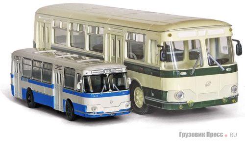 Автобусы и грузовики в масштабе 72