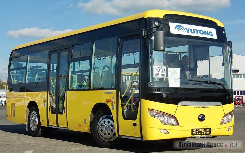Автобусы малого класса Yutong