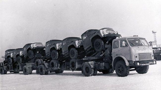 Автовозы в СССР