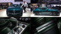 В Женеве презентовали Bentley Continental GT Number 9
