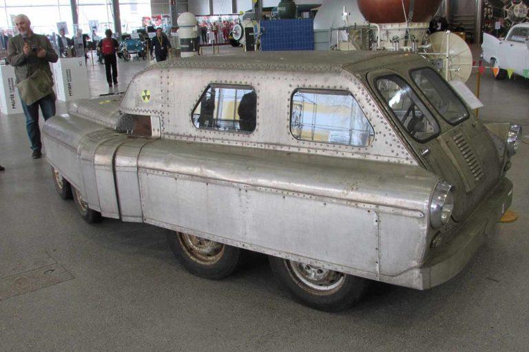 Cекретный автомобиль-амфибия