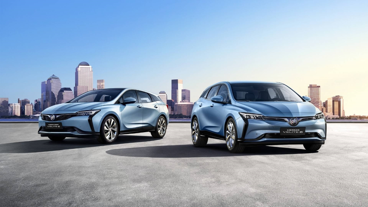 Электромобиль GM Buick