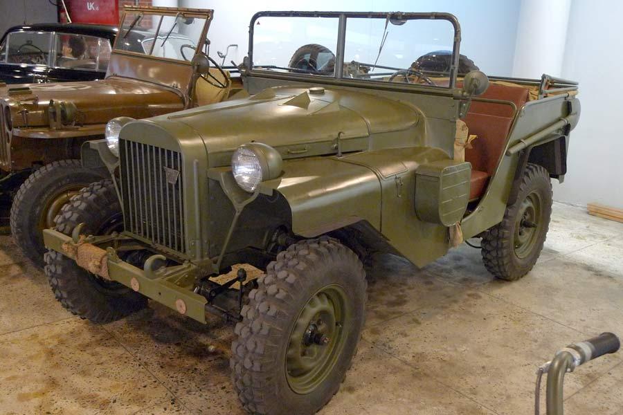 ГАЗ-64 — первый внедорожник советских военных начальников во время ВОВ