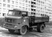 Грузовик из ГДР IFA W50