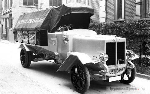 История автомобилей Büssing