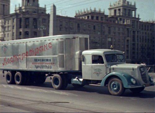 Крутые грузовики в послевоенном СССР