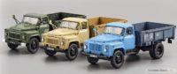 Масштабные модели грузовиков ГАЗ-52