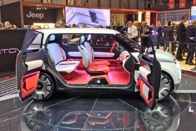 Новый концепт-кар Fiat Centoventi на 120-летие фирмы
