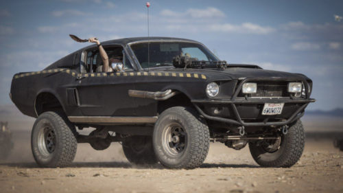 Основой будет Ford Mustang