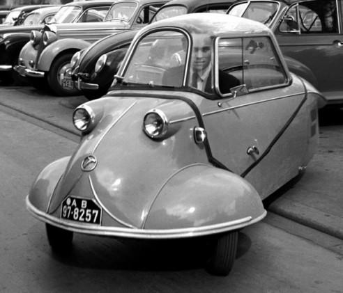 Советские машины 50-х в сравнении с иномарками