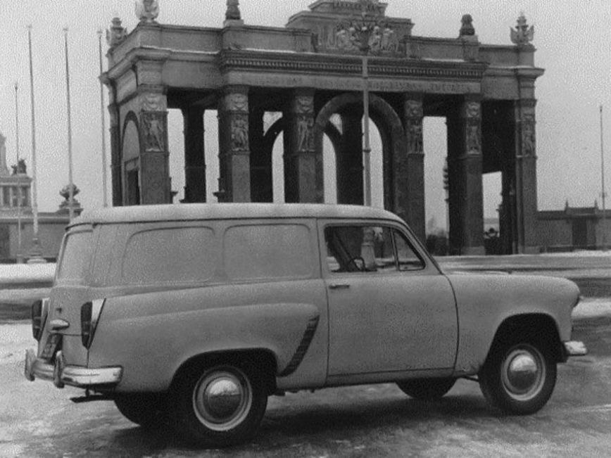 Советский фургон Москвич-430