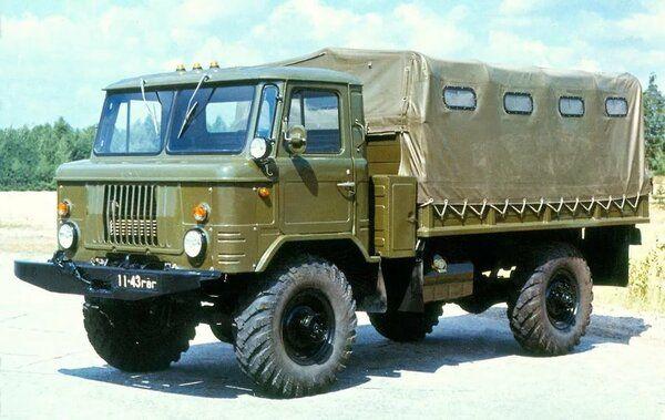 Советский грузовик ГАЗ 66 Шишига