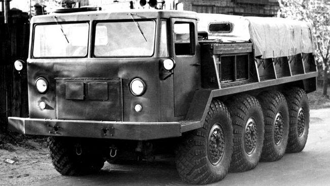 Советский вездеход ЗИЛ-134