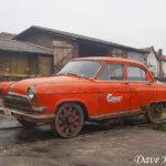 """ГАЗ-21″Волга"""" – дрезина из Сербии"""