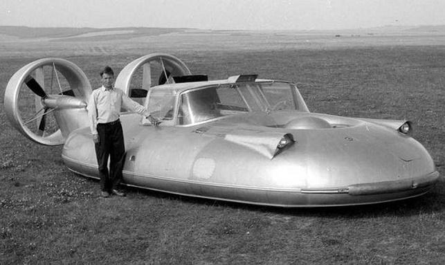 фантастический проект советских инженеров - летающий «ГАЗ-16»