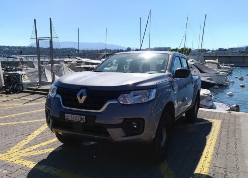 пикап Renault Alaskan Ice Edition