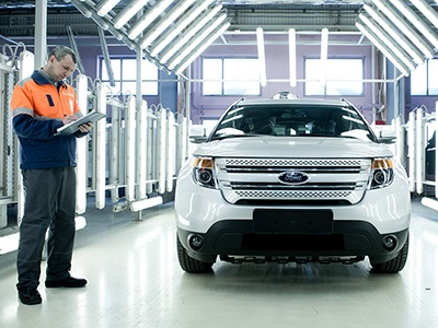 Бастуют рабочие завода Ford в Ленобласти