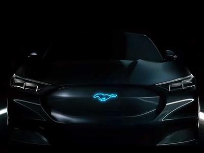 Электромобиль Ford Mustang Mach-E