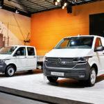 Фургон Volkswagen Тransporter в обновленном варианте 6.1