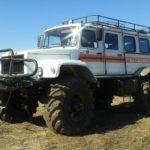 ГАЗ-33081 «Садко» теперь вездеходы «Сивер»