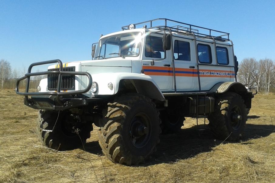 """ГАЗ-33081 """"Садко"""" теперь вездеходы """"Сивер"""""""