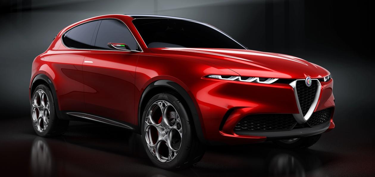 Гибридный кроссовер Alfa Romeo