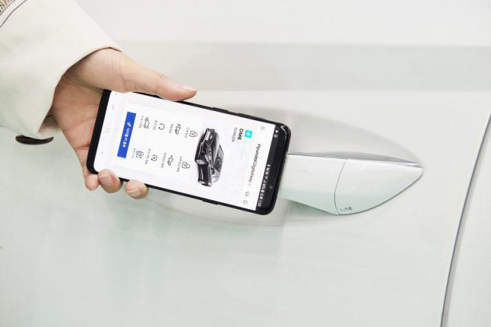 Hyundai заводит автомобили со смартфона
