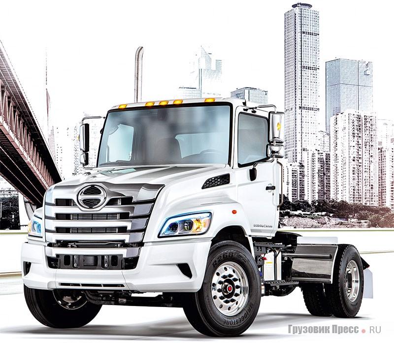 Капотные грузовики Toyota Hino