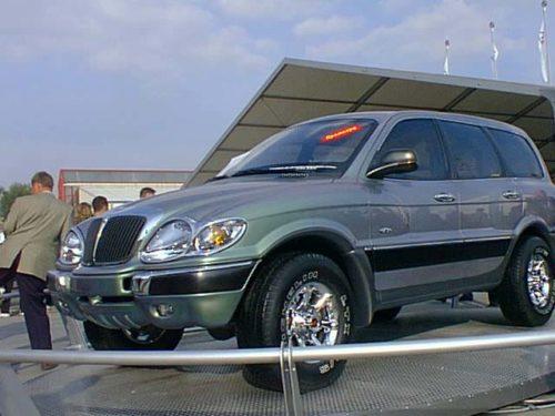 Люксовый внедорожник ГАЗ 3106 «Атаман-2»