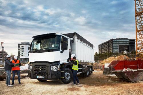 Новые системы безопасности грузовиков Renault
