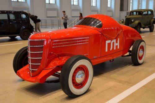 Первый Советский гоночный автомобиль ГЛ-1