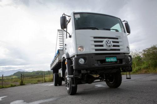 Полноприводные бразильские грузовики VW Constellation