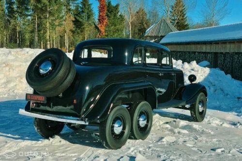 Шестиколесный ГАЗ-25 1939 года