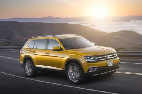 Спецверсия внедорожника Volkswagen Atlas