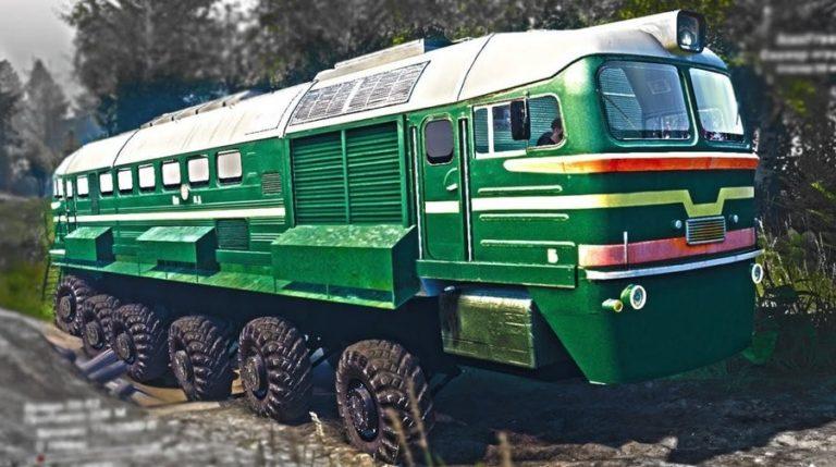 Тепловоз-внедорожник - сделано в СССР